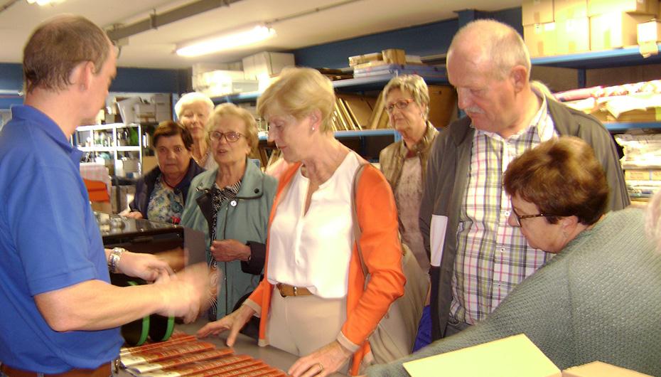 Drukkerij Van De Maele Geraardsbergen Rondleiding