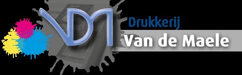 Drukkerij Van De Maele Logo 2019