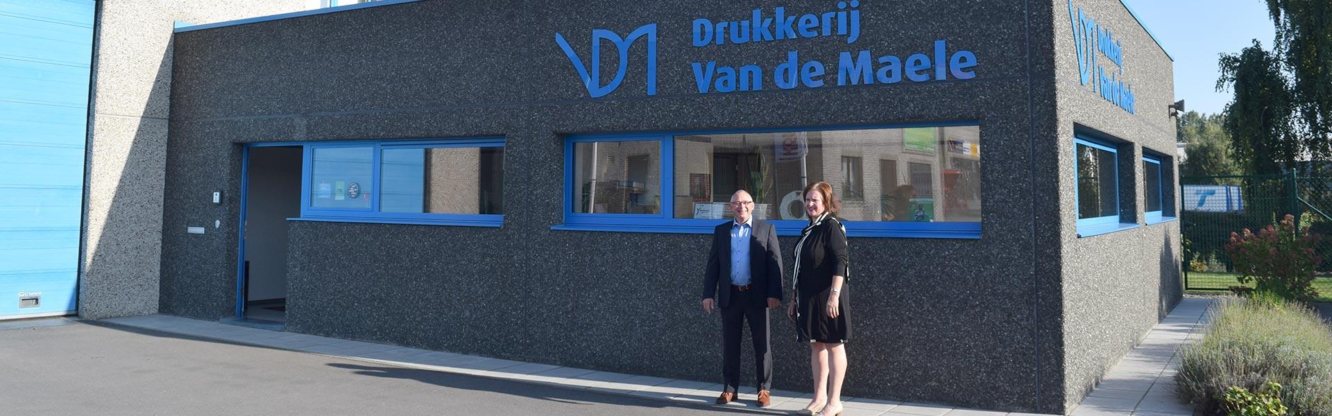 Drukkerij Van De Maele Contact Header Geraardsbergen